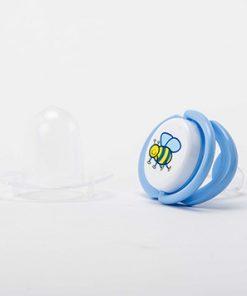 Chupete Entretención Silicona con tapa odontológico (6 meses o más)