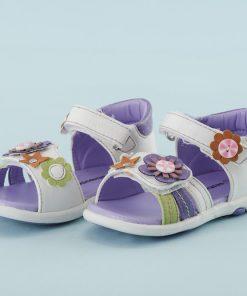 Sandalia Aplicación Color Flores