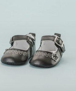 Zapato Hebilla flor